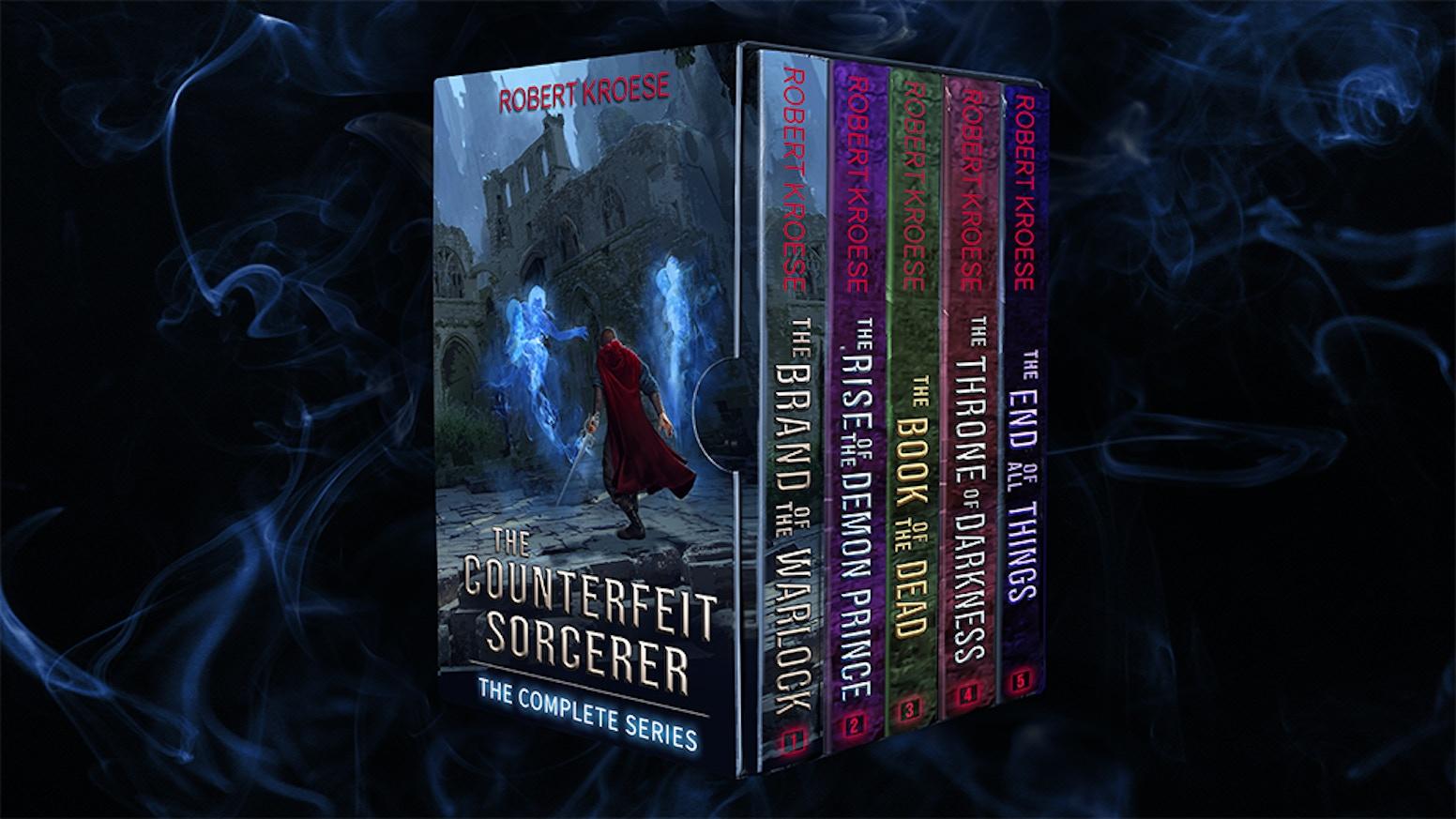 The Counterfeit Sorcerer by Robert Kroese — Kickstarter