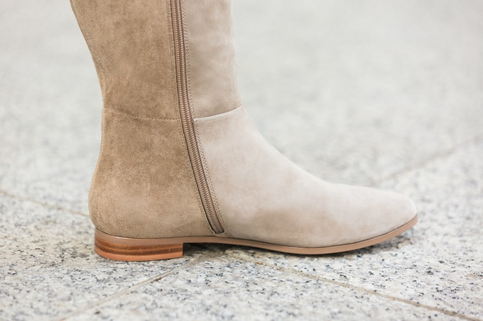 The Bedford, our classic flat boot