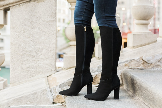 The Melrose high heeled boot