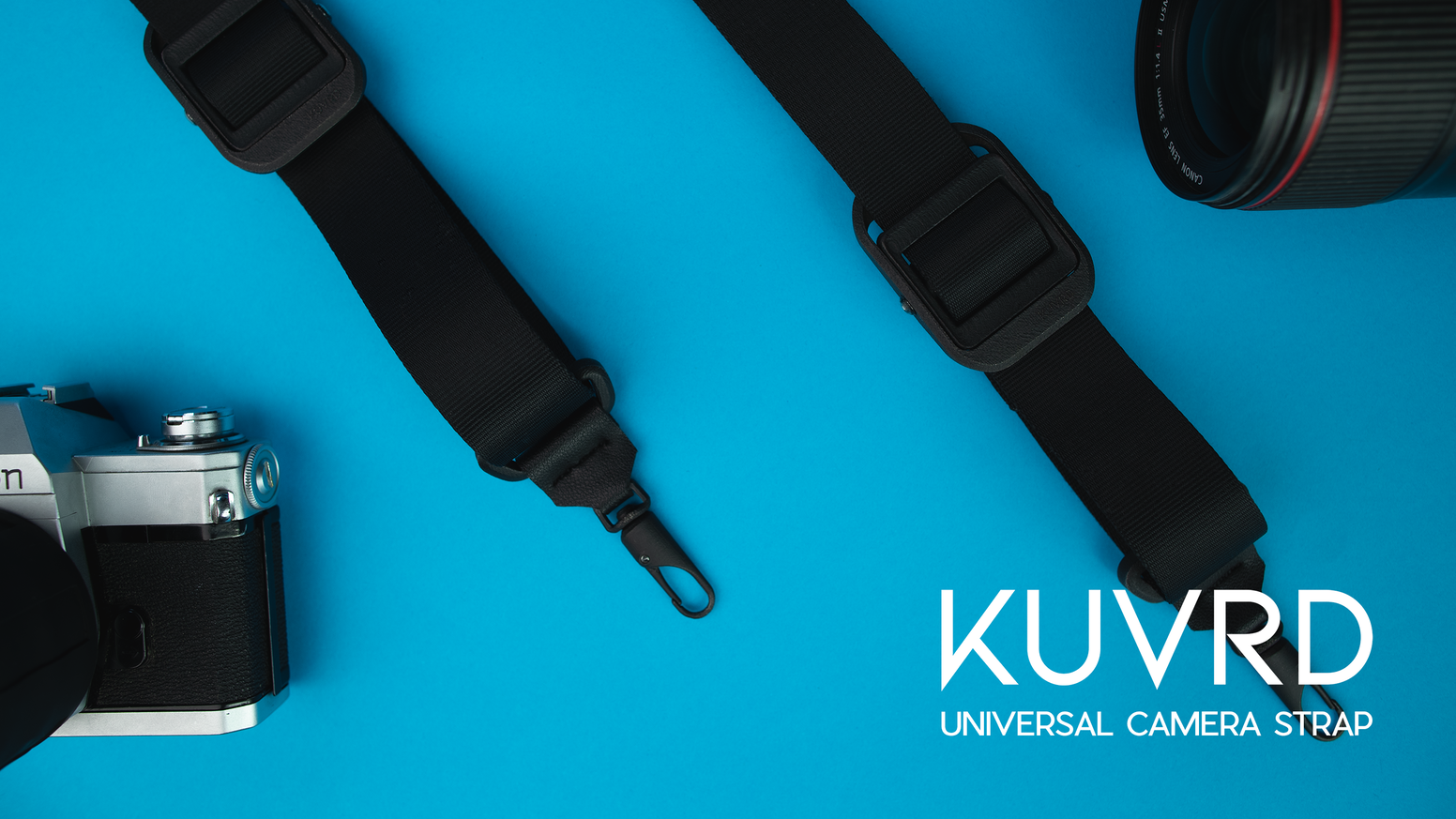 The most versatile camera strap. Designed, built and tested just for you. No matter your style, subject or setting—you're KUVRD.