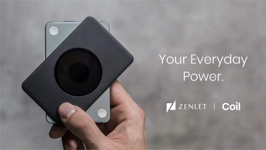 ZENLET Coil - Your Everyday Power.