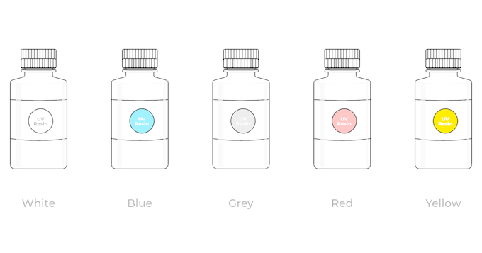 Five Colors for Your Choice