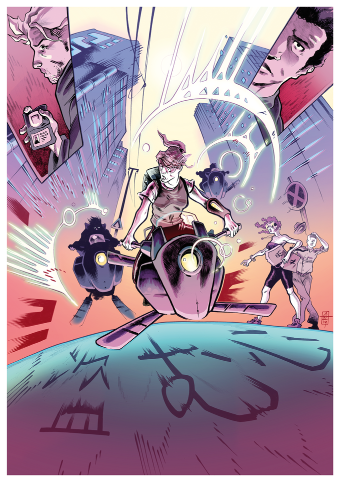 Heart of Steal Print by Alfie Gallagher