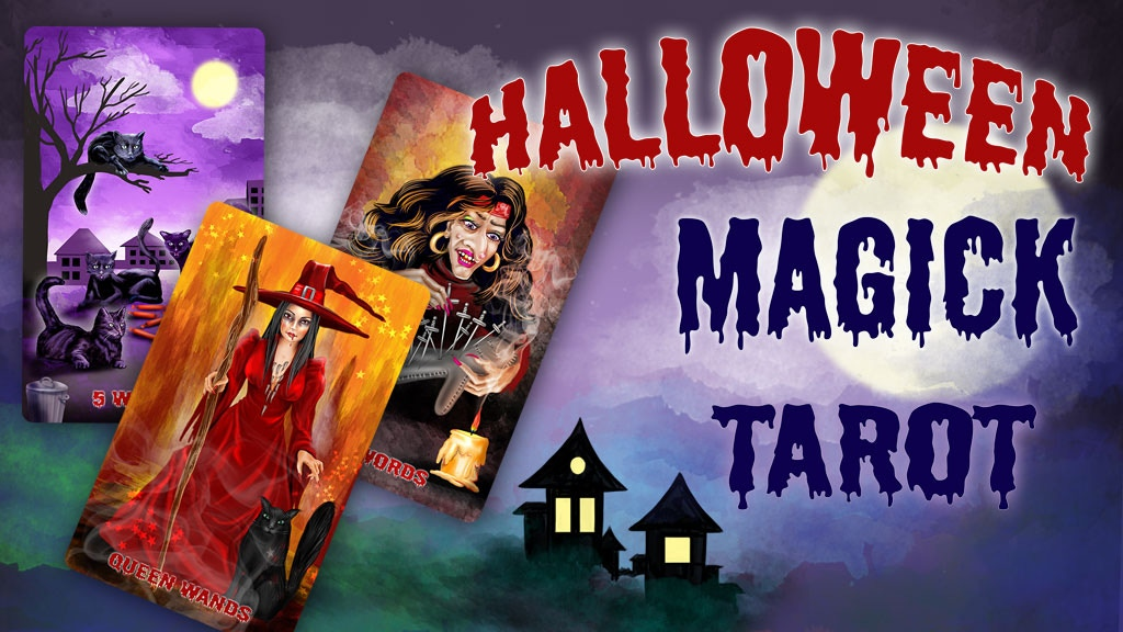 Halloween Magick Tarot Deck project video thumbnail