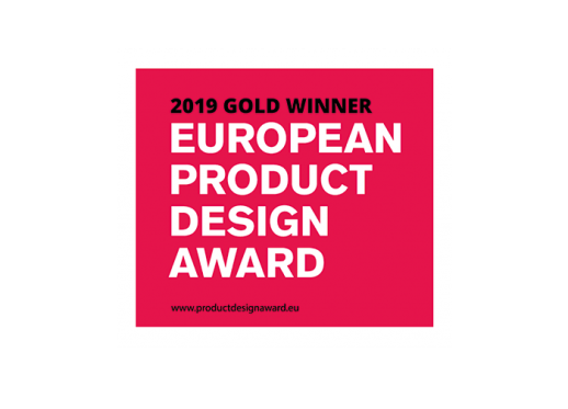 GOLD WINNER - EUROPEAN PRODUCT DESIGN WARD