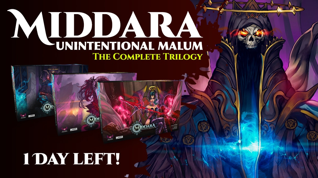 Middara: Unintentional Malum - The Complete Trilogy project video thumbnail