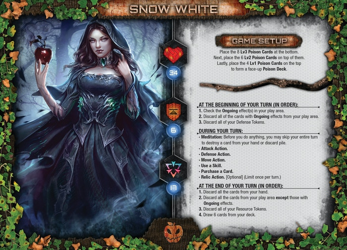 Snow White Character Sheet (WIP)