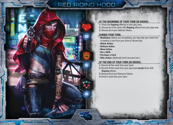Red Riding Hood Character Sheet (WIP)