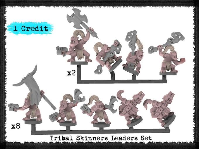 Tribal Skinners Leaders Set - Metal