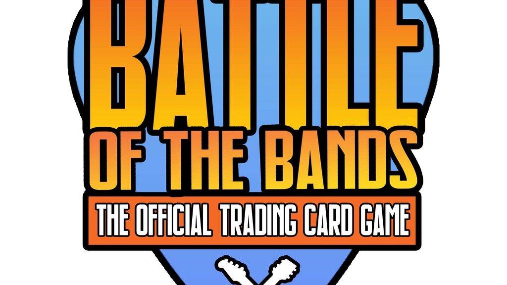 Project image for BATTLE OF THE BANDS: TRADING CARD GAME