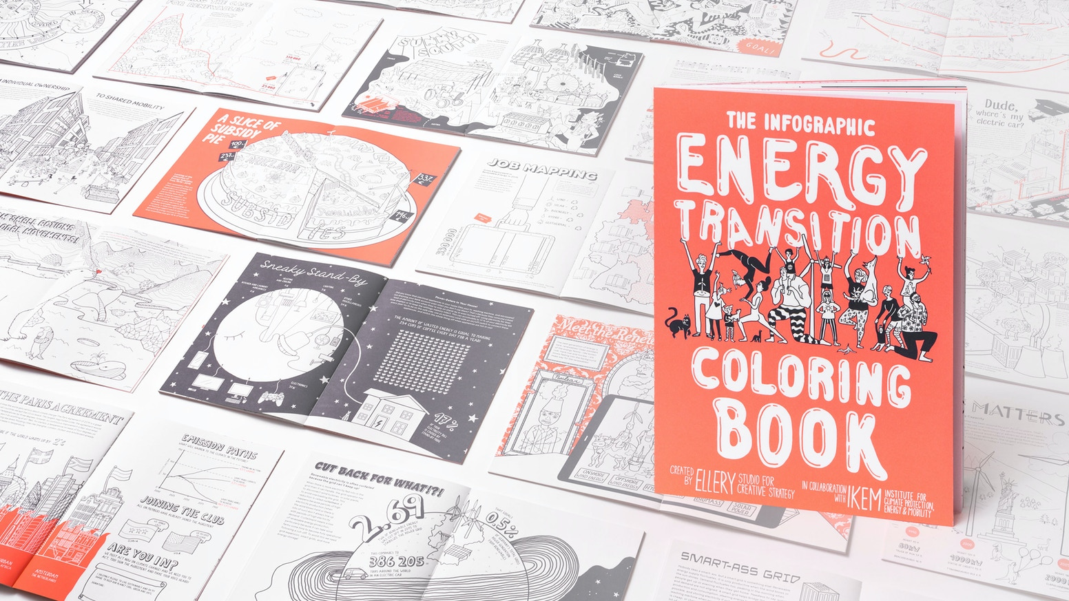 The Infographic Energy Transition Coloring Book By Ellery Studio And Ikem Kickstarter
