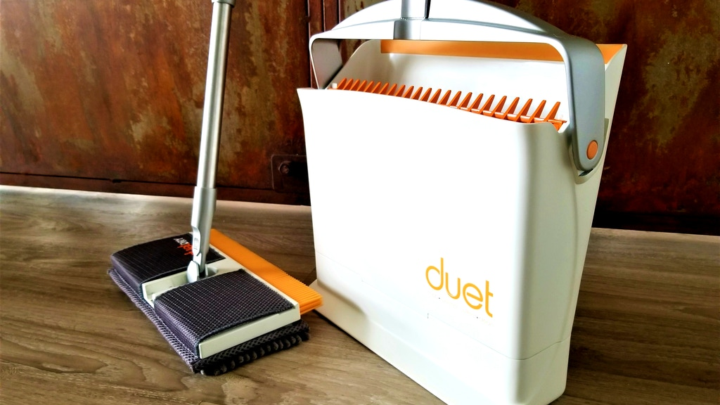 Meet Duet, an innovative, futuristic cleaning tool that isn't robotic
