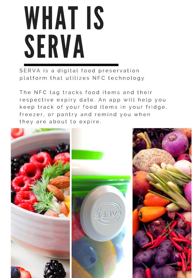 Serva | NFC food tracker and FOSA | Food Vacuum Storage by