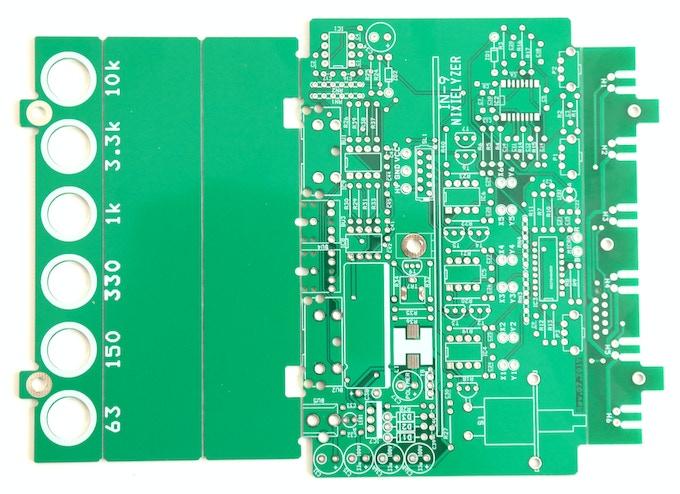 The bare PCBs (Prototype)