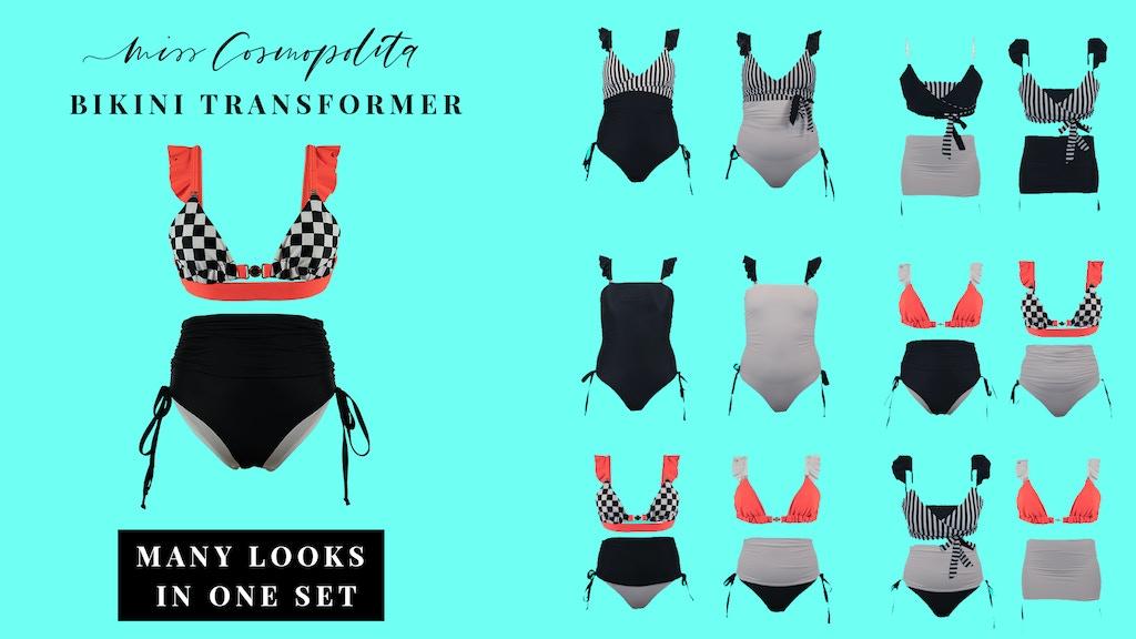 Miss Cosmopolita: Bikini-Transformer by Miss Cosmopolita — Kickstarter