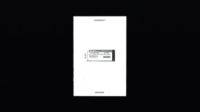 Mirador Press White Series - Copiwrait Cover