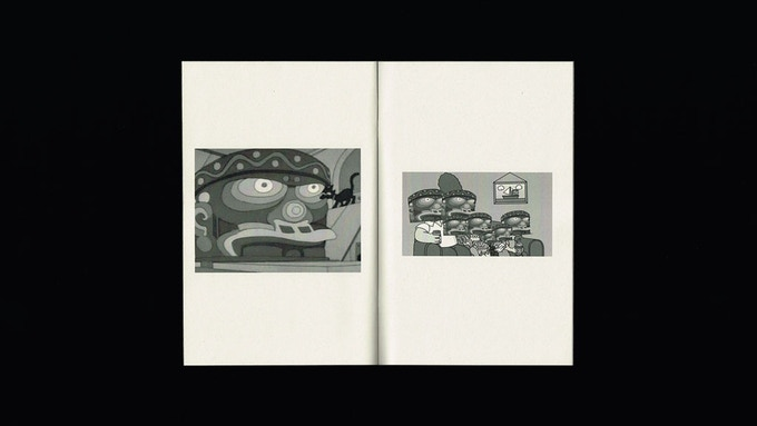 Mirador Press White Series - Totems Inside Pages