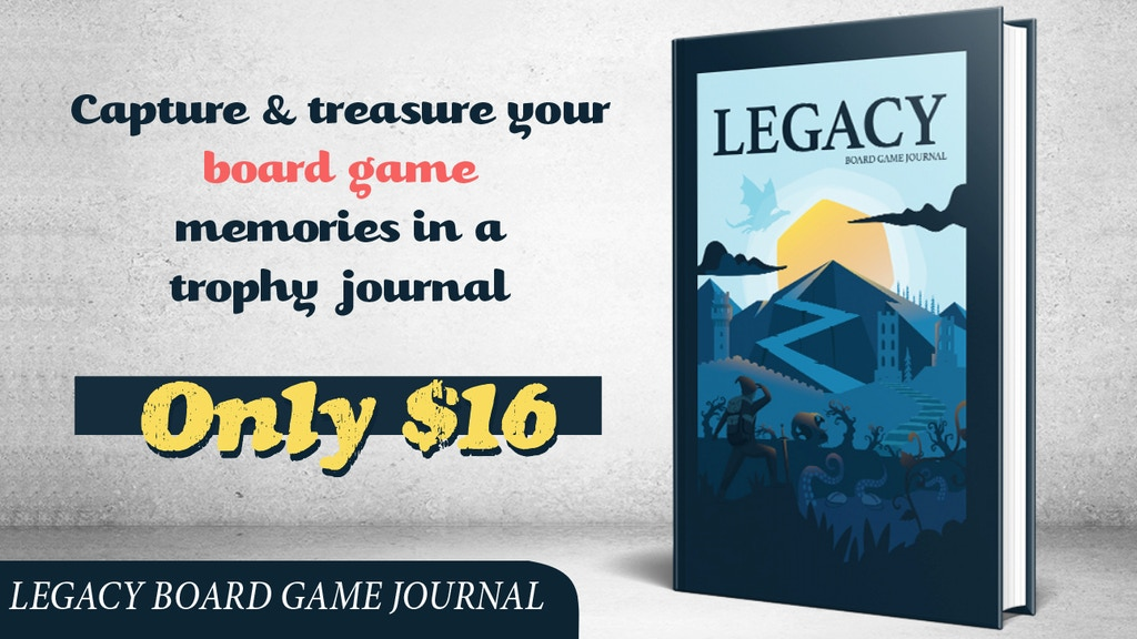 Project image for Legacy Board Game Journal