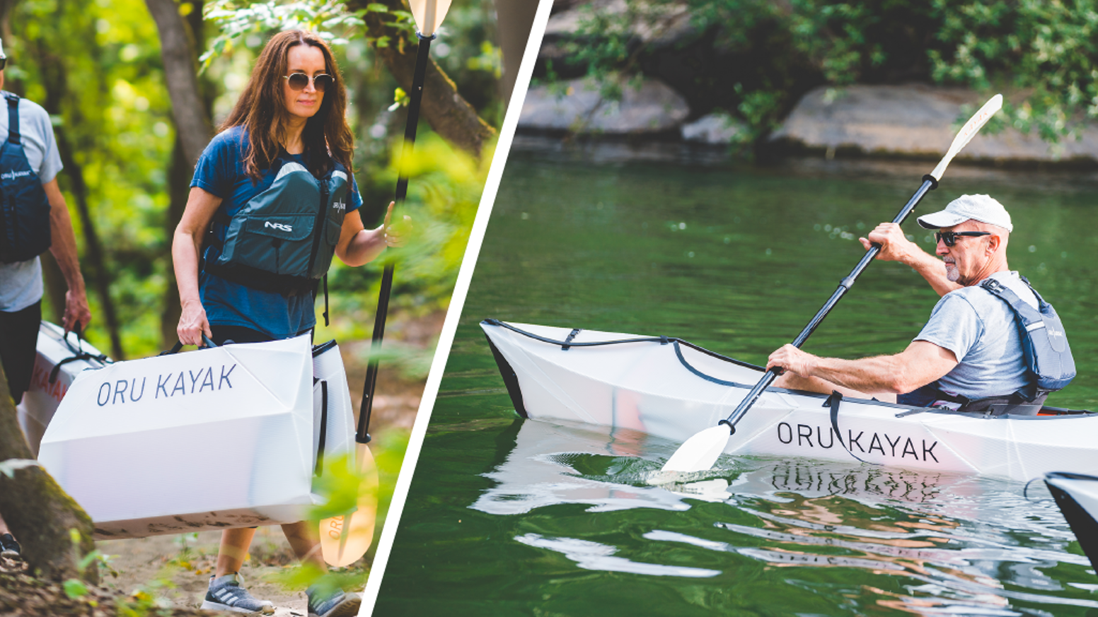 ​A kayak that makes the water simple, easy and accessible. For a world with more spontaneous adventures!