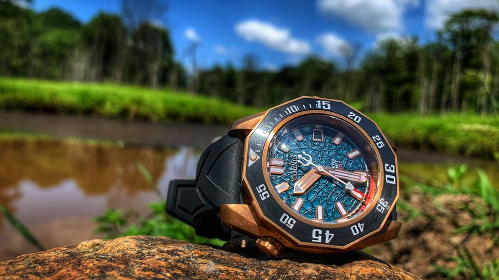 Neminus Master Diver 1000 Watches: Built For Those Who DARE! project video thumbnail