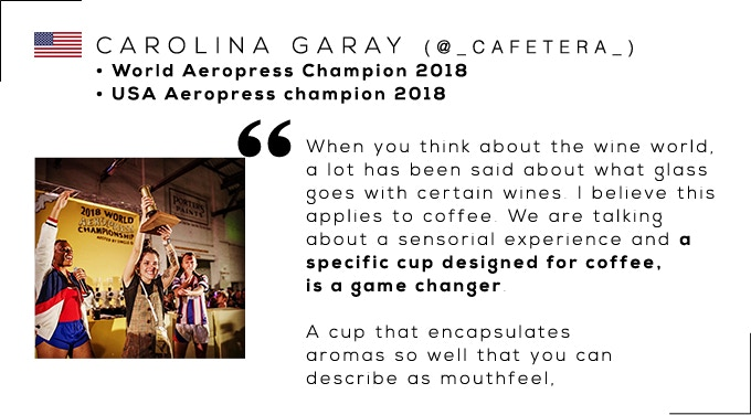 Carolina Garay, World Aeropress Champion 2018