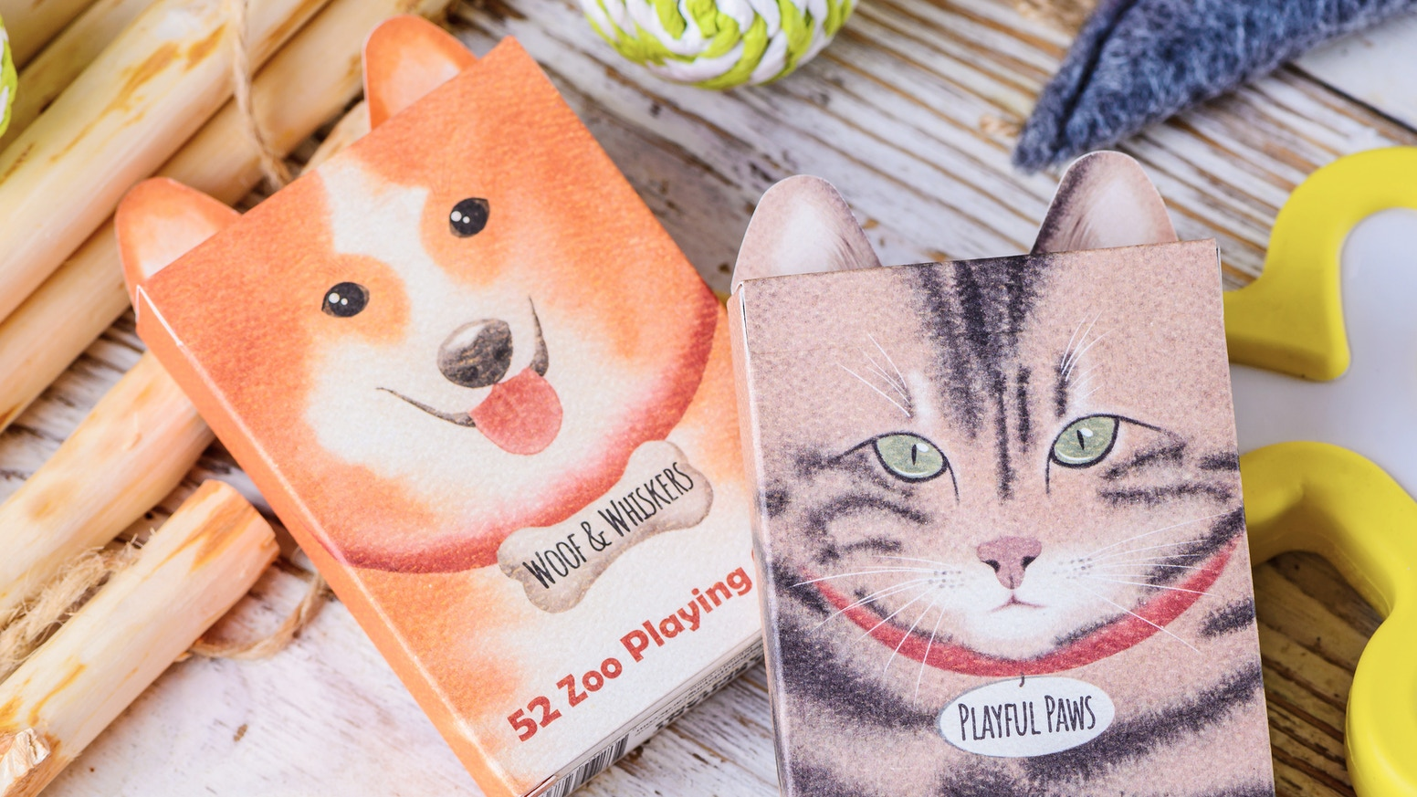 Celebrate your love for our furry friends with adorable hand painted Cat and Dog cards!