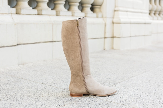 The Bedford, in taupe gray