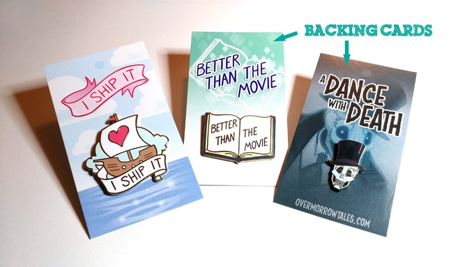 My other pins! Also available via this kickstarter!
