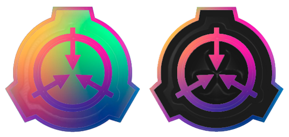 Anodized 'Rainbow' SCP Enamel Pins - STRETCH GOAL UNLOCKED!!!