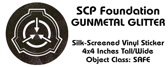 All New SCP Stickers - Currently in the Post and will be in our hands Monday Aug 5th!