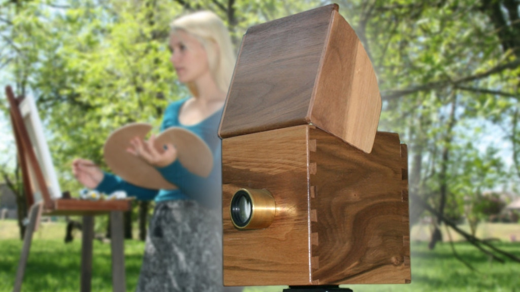 Walnut CAMERA OBSCURA: Draw, Paint, Capture the Image! project video thumbnail