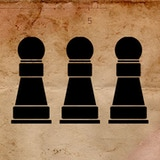 Three Pawns