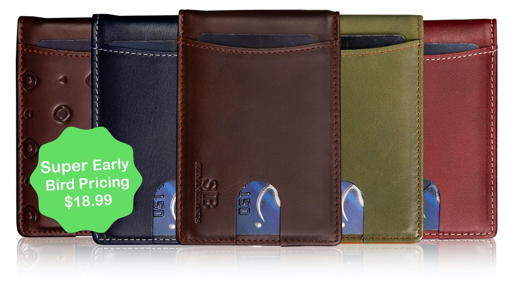 NEW SERMAN BRANDS 1.0 | RFID Blocking Minimalist Slim Wallet project video thumbnail