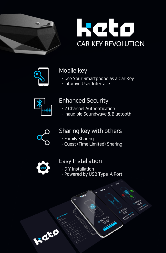 KETO : Turn Your Smartphone into Your Car Key | Easy, Secure