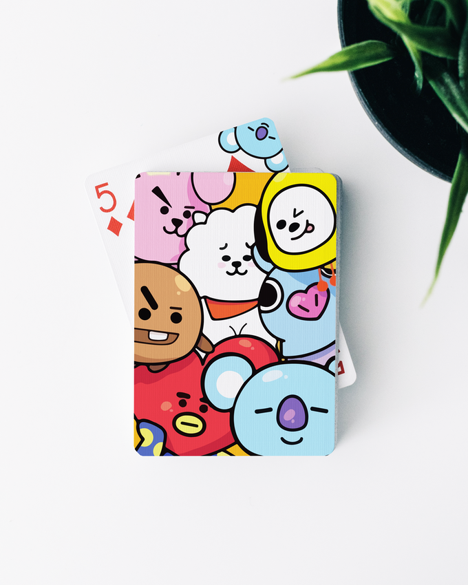 BTS x BT21 x PLAYING CARDS