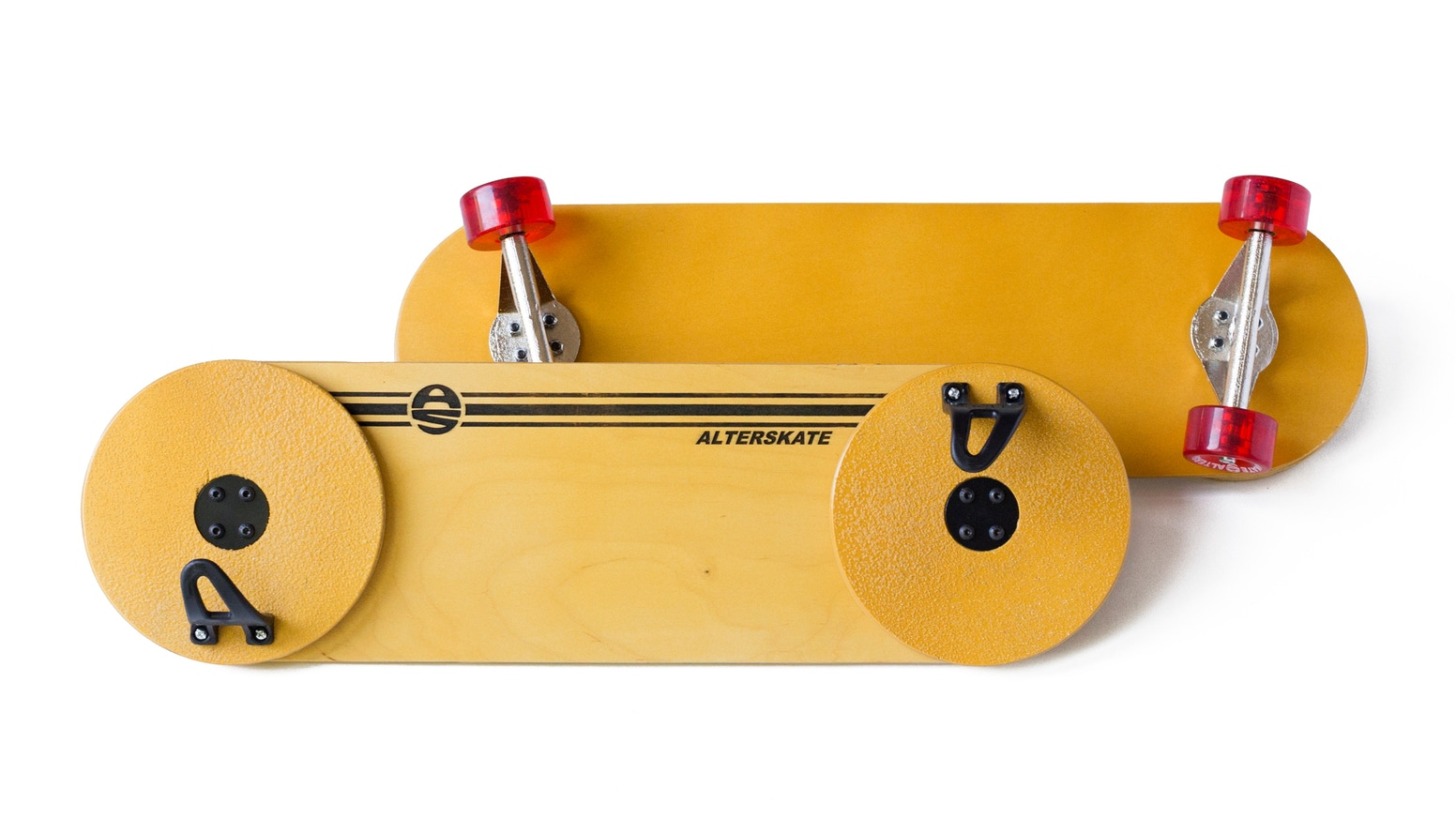 An alternative board for skating. Multi-directional and super-smooth.