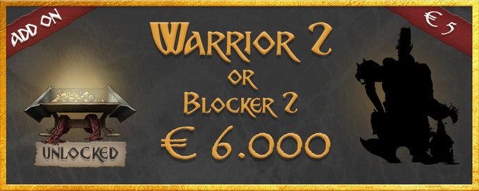 Warrior 2 or Blocker 2