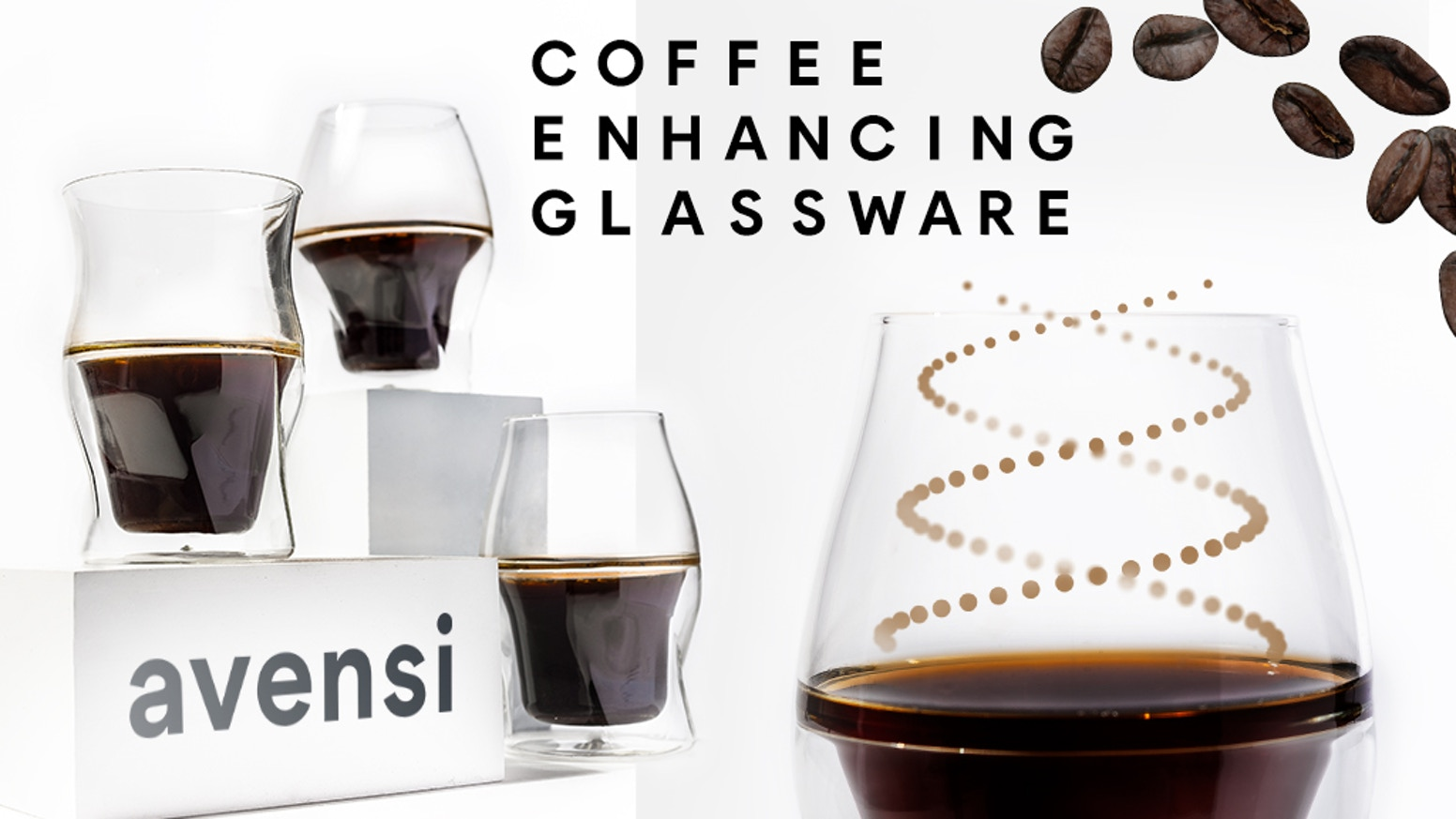 A new category of scientifically engineered double wall coffee cups–enhance & reveal the full taste, aroma and flavor of your coffee. Want to be the first to get AVENSI at the special pre-launch price before our official launch?