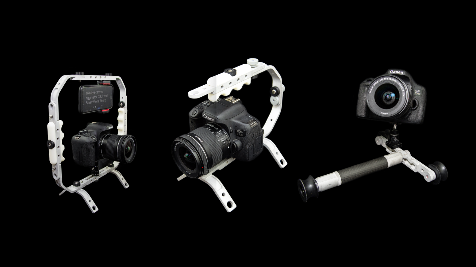 PhORM is the all-in-one solution to creative camera rigging for DSLR and smartphone filming.