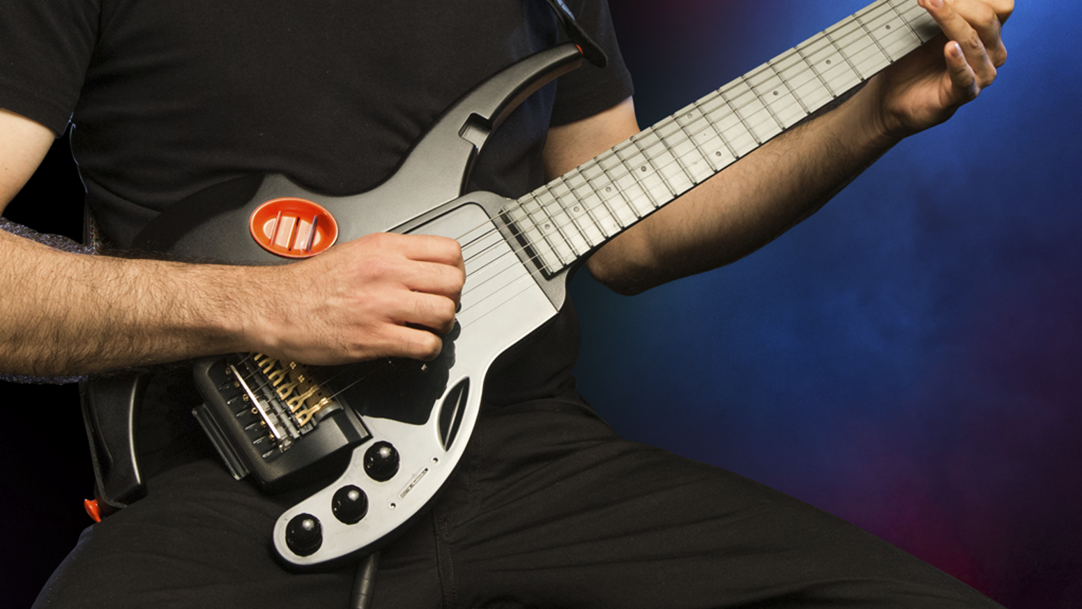 Unleash your creativity with this high-quality modular guitar. Change pick-ups or body within 10 seconds, without even looking!