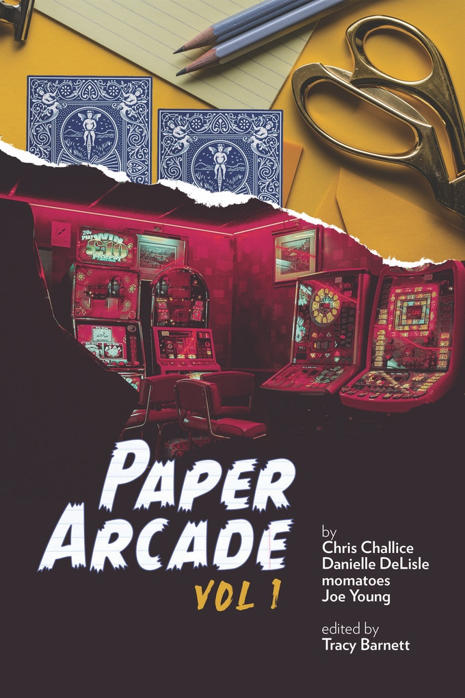 Paper Arcade vol. 1 Cover, by momatoes