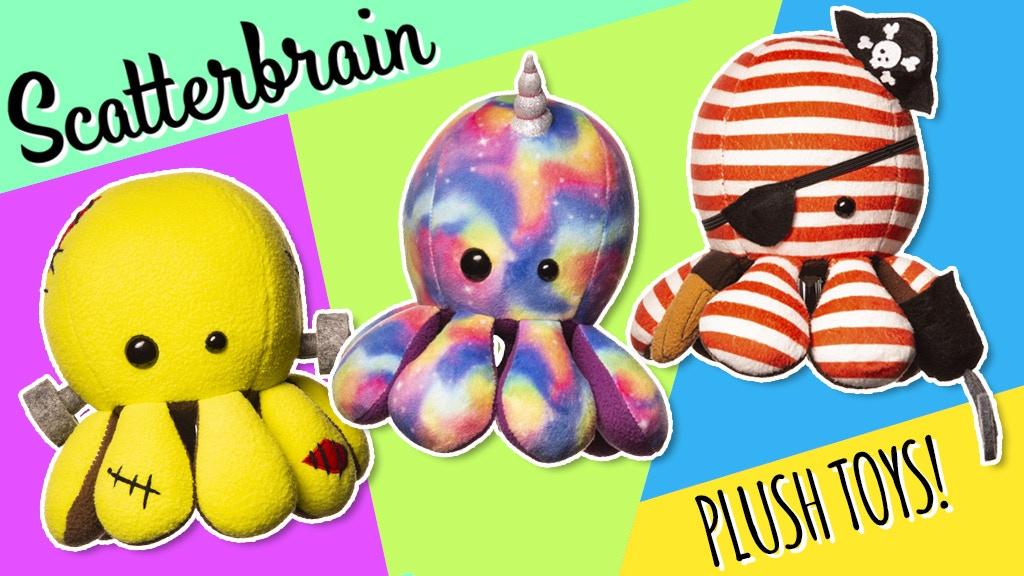 Scatterbrain's CHARACTER plush toys!