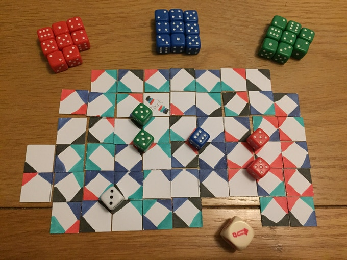 The first ever play test - won by one move