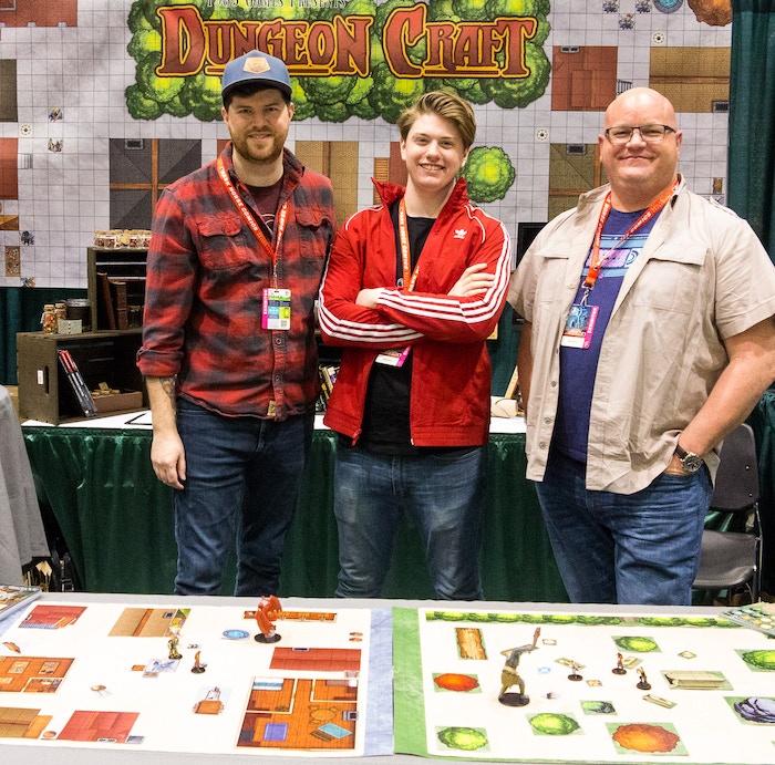 The team at Emerald City Comicon