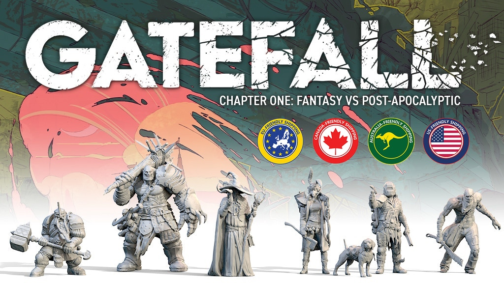 GATEFALL CHAPTER ONE: FANTASY VS POST-APOCALYPTIC project video thumbnail