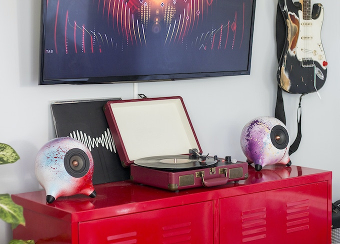 Singer Personal Audio: Customized 3D Printed Home Audio