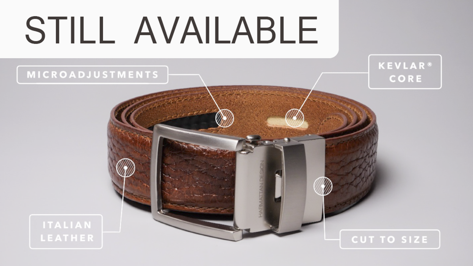 See why 36.000 people have backed our Smart Belt, now at 3.0 with 4 distinct innovations!