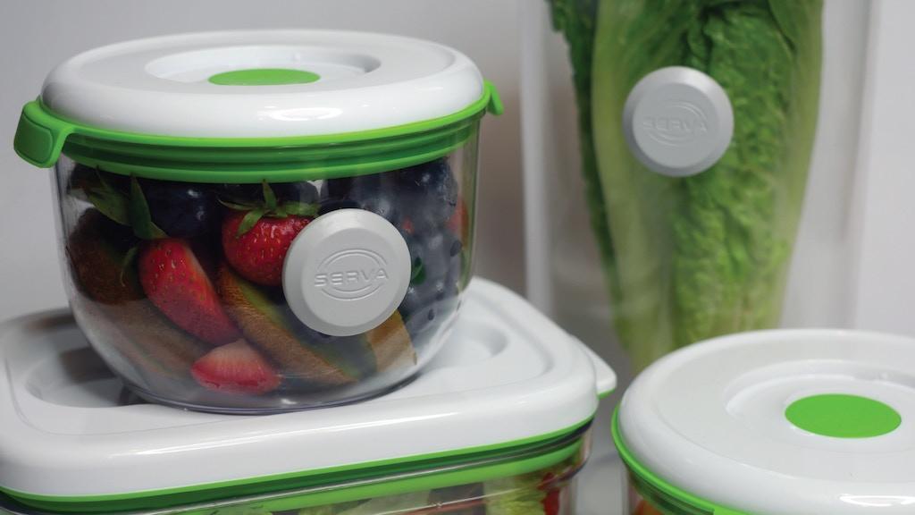Serva | NFC food tracker and FOSA | Food Vacuum Storage project video thumbnail
