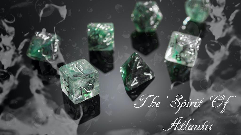 "'Spirit Of' Atlantis Dice Range - ""Break Kickstarter"" project video thumbnail"