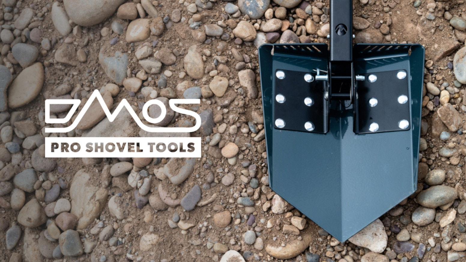 Full-sized. Fully collapsible. American Made from Premium Materials. This is THE shovel for all your adventures.